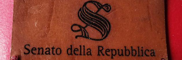 Cerimonia consegna defibrillatore dono dei dipendenti del Senato della Repubblica Italiana